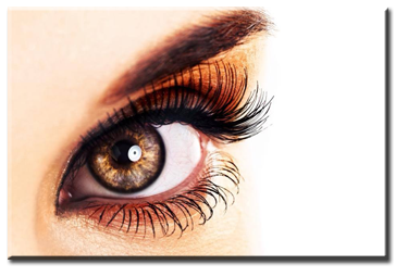 Eyelash extentions for beautiful eyes at His n Hers Hair Company in Wyoming, MN near Forest Lake, just north of the Twin Cities of Minneapolis and St. Paul.